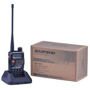 Image 4 - Walkie Talkie Baofeng UV 5RE Plus Two Way Radio Uhf Vhf Dual Band Cb Radio Uv 5r 5W Prosciutto Portatile radio per La Caccia Ricetrasmettitore