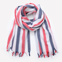 2017 Winter New High Quality Cashmere Women Scarf Thick Section Color Stripes Oversized Size Ms Shawl