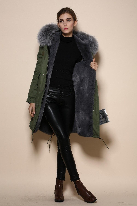 Grey Cheap Online Shop Long item Pretty Parka Supplier from ...
