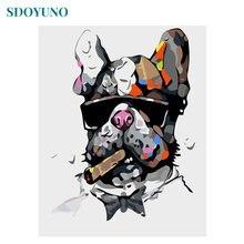Sdoyuno diy картина маслом по номерам бескаркасные 60x75 см