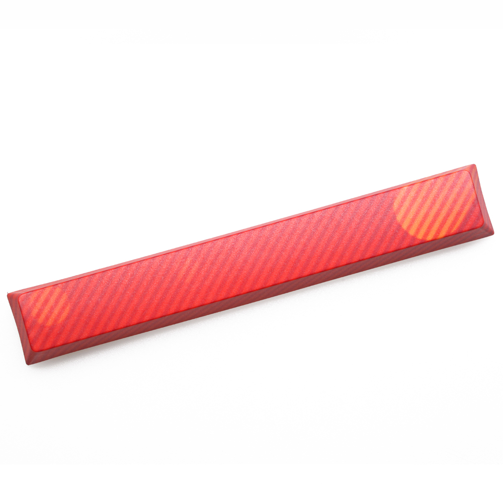 Novelty Allover Dye Subbed Keycap Spacebar Pbt Custom Mechanical Keyboard Ripple Meteor Neon