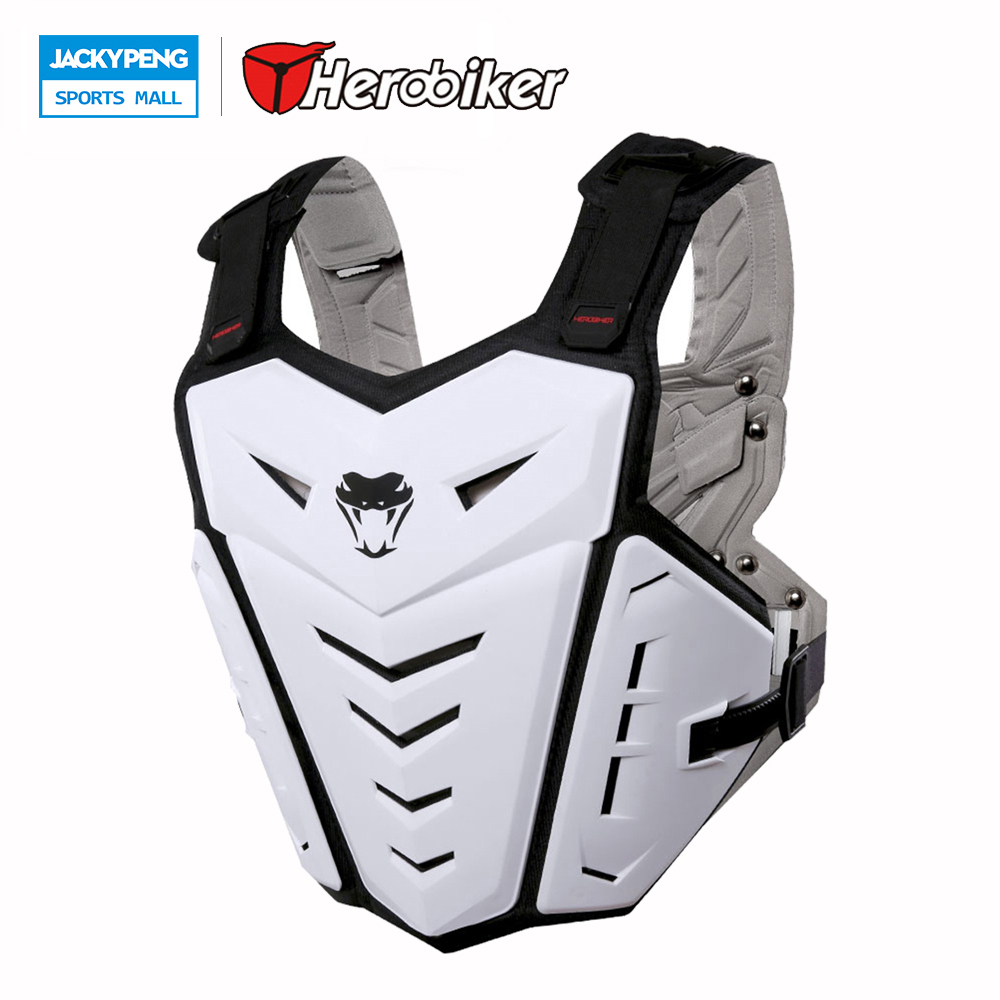 HEROBIKER Body Armor Riding Cycling Climbing Outdoor Sports Back Support Vest Chest Protector Off-Road Dirt Bike Protective Gear