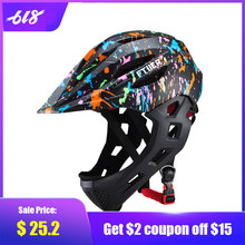 2019 Children Riding Helmets Bike Bicycle Cycling Skating Protection Safety Helmet LED Taillights Kids Sport Helmet S 46-53cm(China)