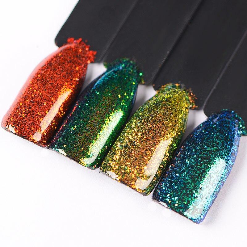 Nails Art & Werkzeuge Mtssii Bunte Chamäleon Wirkung Nagel Glitter Pulver Zucker Design Nail Art Chrome Pigment Schwarz Basis Benötigt Nagel Kunst Dekoration Ideales Geschenk FüR Alle Gelegenheiten Schönheit & Gesundheit