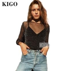 Kigo summer women blouse 2017 fashion silver glitter top long sleeve sexy see through metallic blouse.jpg 250x250