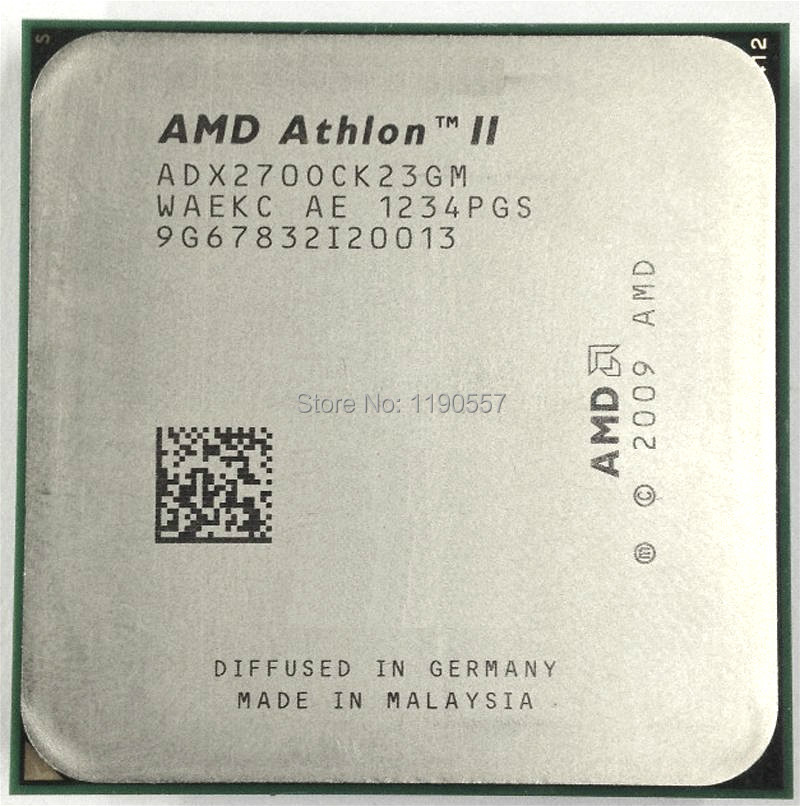 Amd Athlon Ii X2 270 Processor 3 4ghz 2mb L2 Cache Socket Am3 Dual Core Scattered Pieces Cpu Cpu Voltage Cpu Water Cooling Radiatorl2 Auto Aliexpress