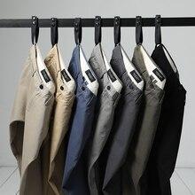SIMWOOD 2018 осень зима новый повседневные штаны для мужчин для Хлопок Slim Fit чиносы модные мотобрюки мужской брендовая одежда плюс размеры