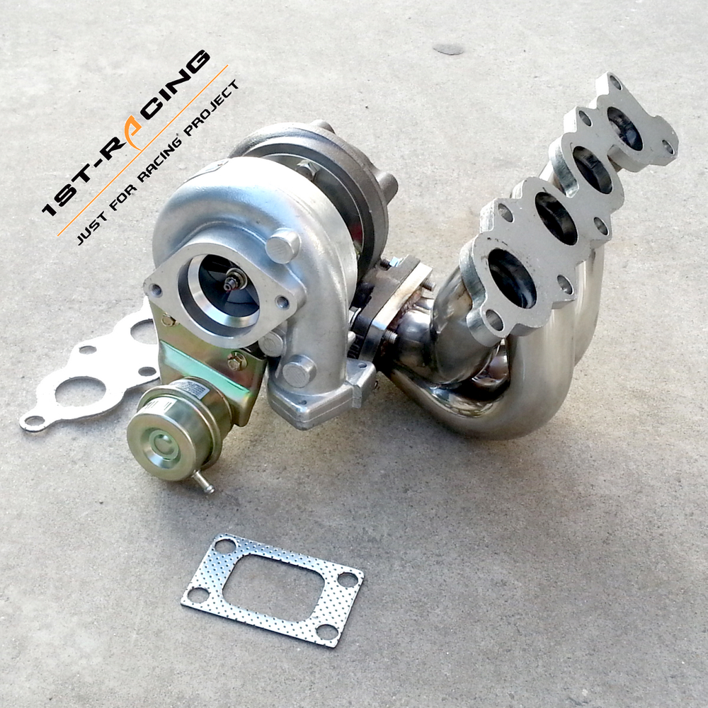 Exhaust Turbo Manifold for Suzuki Swift GTi G13B + BOLT ON WATER  TURBOCHARGER-in Turbo Chargers & Parts from Automobiles & Motorcycles on  Aliexpress.com ...