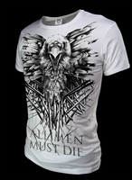 Summer Three Eyed Crow Game Of Thrones T Shirt Cotton Short Sleeve Ice And Fire T