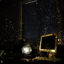 Sci-fi to create a romantic starry atmosphere projection lamp LED lights night light indoor party decorative lights