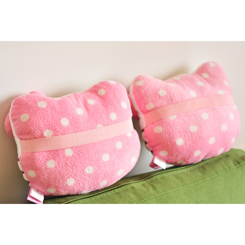 Cute Car Headrest Pillow : HOT Hello Kitty Accessories Car Headrest Pillow Cute KT Pink Auto Safety Seat Rest Support ...
