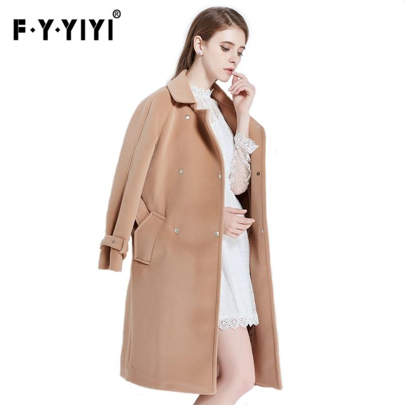 cachemire manteau femme manteau femme manteau femelle de laine manteau 2016 hiver cor enne slim. Black Bedroom Furniture Sets. Home Design Ideas