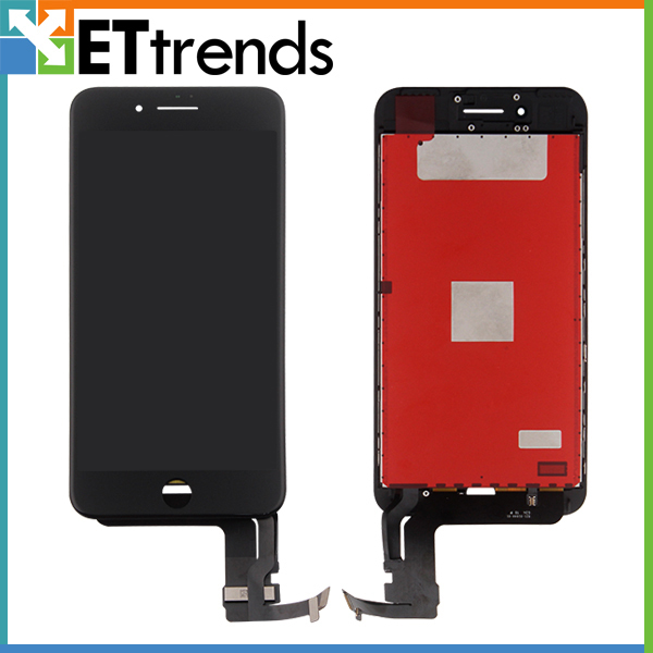 3pcs/lot Quality AAA Original OEM LCD for iPhone 7 Plus LCD Display Touch Digitizer Assembly Cold Press Frame DHL Free Shipping