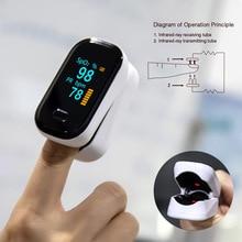 Pulse Oximeter Finger Oximeter Portable Pulse Oximetry Househole Health Monitors Heart Rate Monitor  Finger  Saturometer  Oxygen