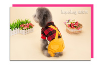 Ladies Shirt Wool Cotton pet dog Trousers  Puppy autumn and  winter Clothes 2 colors