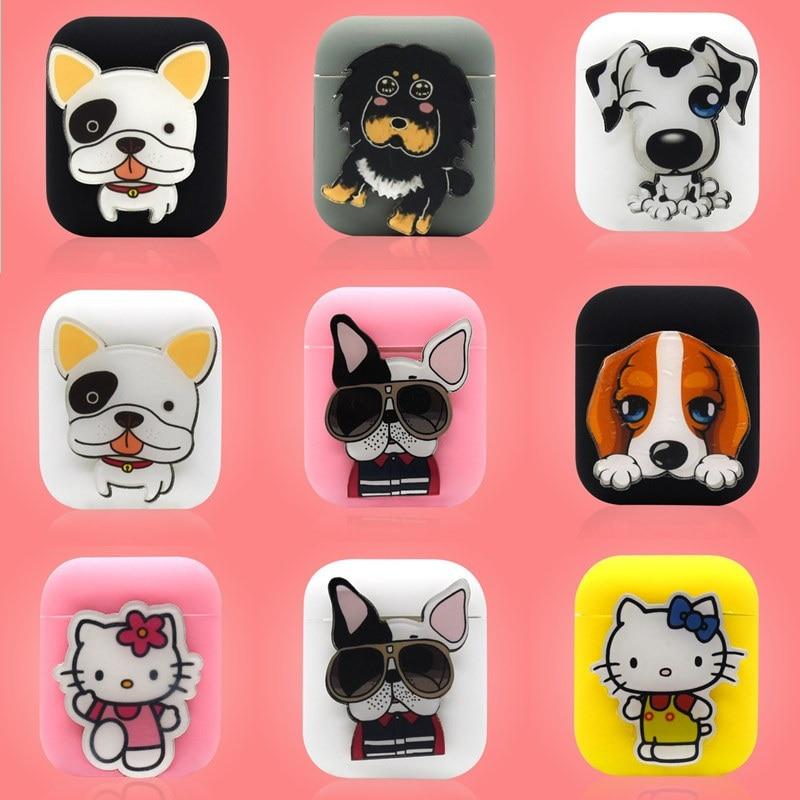 Cute Animal Cartoon AirPod Case Cover