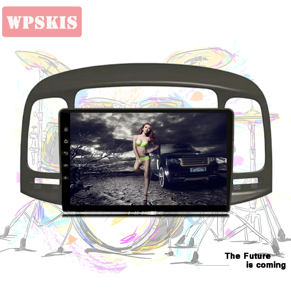9 car radio stereo for Hyundai Accent 2006 2011 Android 9 0 car dvd player with