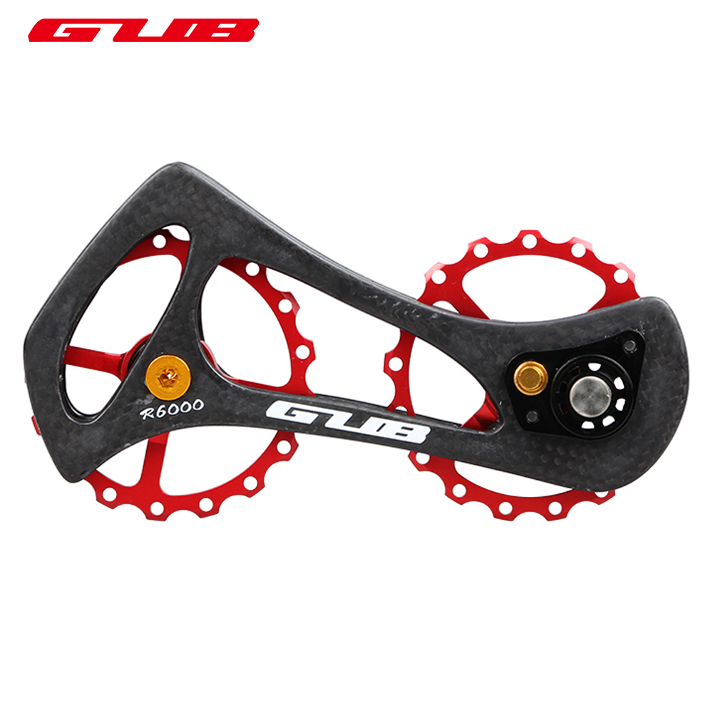 GUB 17T MTB bike Bicycle cycling Rear Derailleur Pulley for Shimano Ultegra/DURA ACE 5700/4600/4700/105/ 6800/6870/9000/9070 free shipping 2014 original dura ace 9000 2 11 speed mtb road bike groutset top level bicycle derailleur 8 piece set