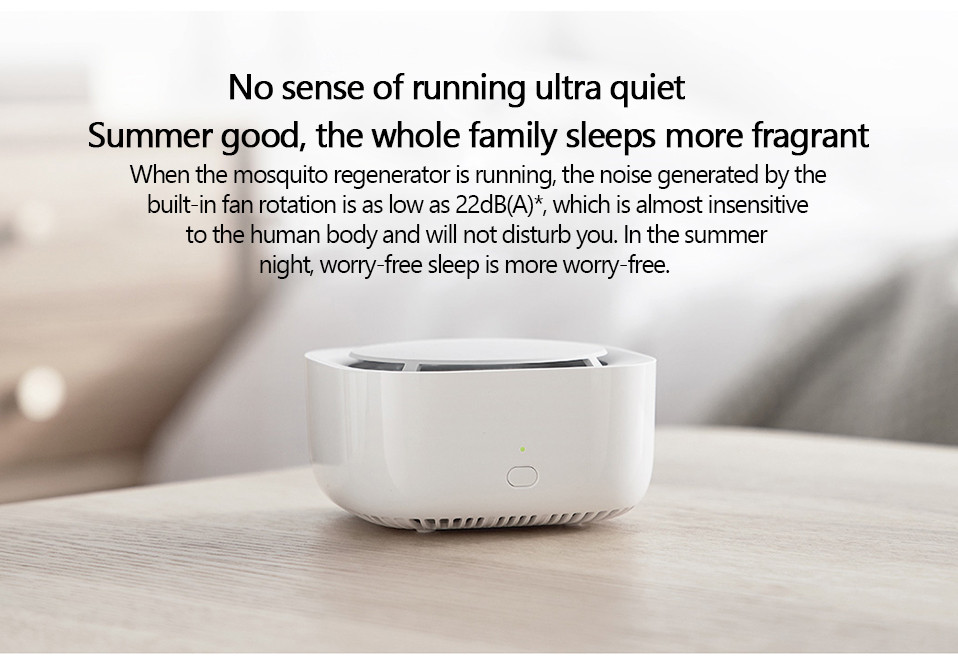2019 New Xiaomi Mijia Mosquito Repellent Killer Smart Version Phone timer switch with LED light use 90 days Work in mihome AP (16)