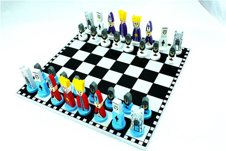 Foldable Chessboard International Chess Board Family Friend Party Fun Cartoon Characters Set Pieces In Sets From Sports