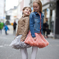 Lovely Girls Chiffon Pettiskirt Kids Fashion Puffy Dance Skirt Flower Girls Party Tutu Skirt Baby Girls Clothes 81481