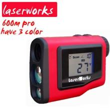 Discount! Handheld laser rangefinder play golf 600m waterproof outdoor range finder binoculars Monocular Velocimetry Tester Slope meter
