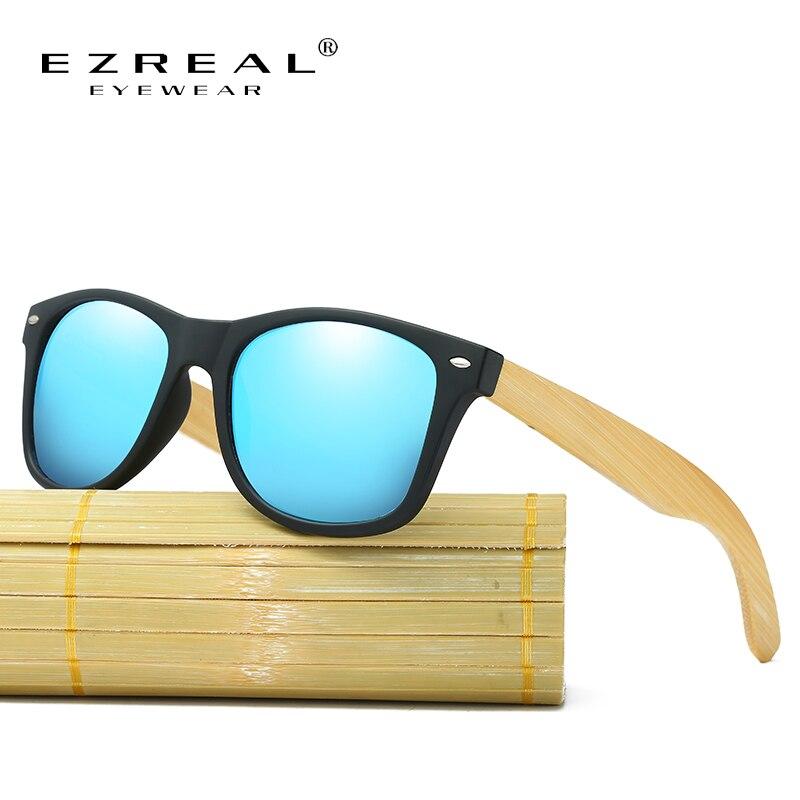 EZREAL 2017 Nová značka Design Bambusové sluneční brýle Polarized Muži Dřevěné sluneční brýle Ženy Originální dřevěné sluneční brýle EZ022