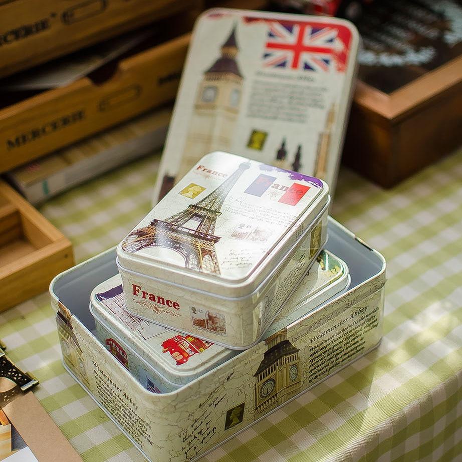 1 Unids Nueva KEYAMA Creativo de estilo Europeo 3 unids / lote té - Organización y almacenamiento en la casa