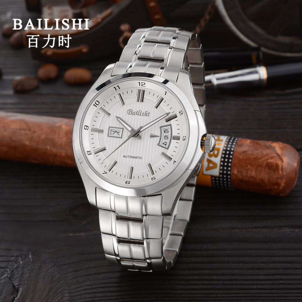BIALISHI men watche brand luxury high quality quartz male wristwatch waterproof  stainless steel men's sport relogio masculino china watche