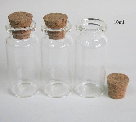 3 oz pequeno claro garrafa de rolhas