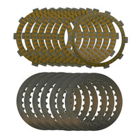 A set Motorcycle Engine Parts Clutch Friction Plates Kit & steel plates For Benelli 600 BJ600 BJ 600