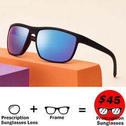 Langford Rezept Sonnenbrille Sportliche männer sonnenbrille polarisierte sonnenbrille myopie Fahr Schattierungen sturz sonnenbrille