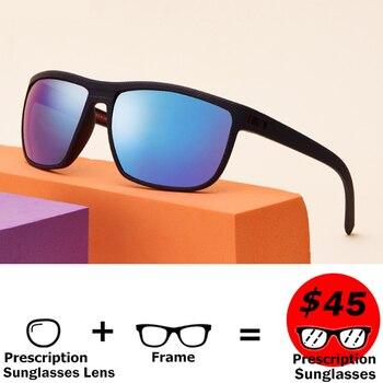 1c29f13c01 Langford anteojos de sol recetados deportivo de los hombres gafas de sol  polarizadas de la miopía