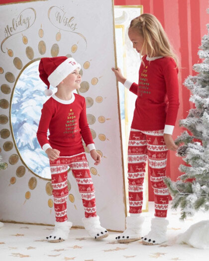 Family Christmas Pajamas Set Print New Years Clothes for girl Clothes Set 2Pcs Mother Father Son Outfits Family Clothing Hot