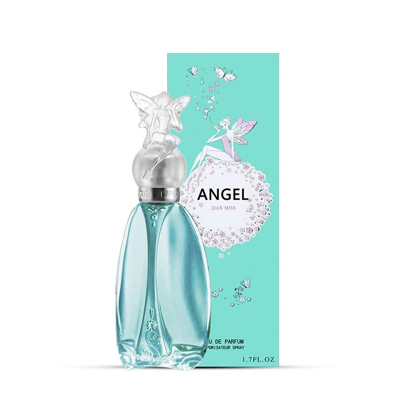 Angel 50ml Brand Women Perfume Feminino Flower Fruit Fragrances Body Spray Parfum Long Lasting Mujer Liquid Antiperspirant WP38