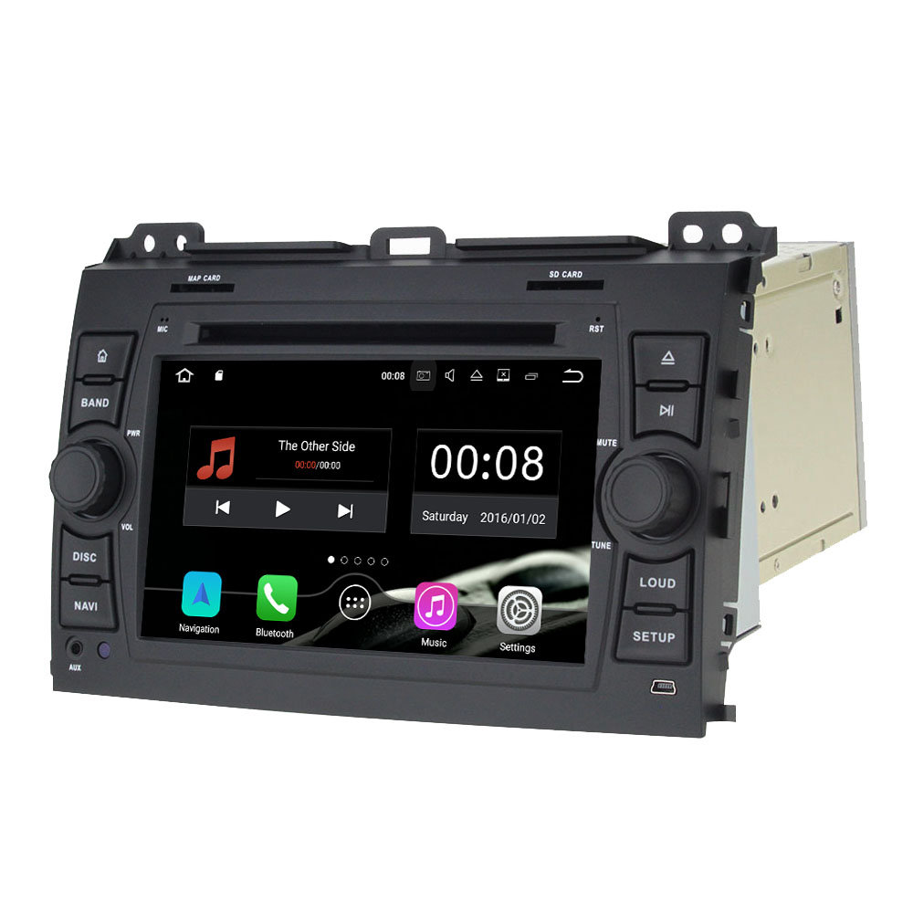 2GB RAM 7 16GB ROM Quad Core Android 7 1 1 2 Din Car DVD Player