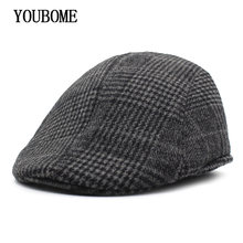 da2e20f9714 YOUBOME Fashion Berets Hat Men Casquette Winter Hats for Men Male Peaked  Visors Gorras Homme Masculino Brand New Beret Caps 2018