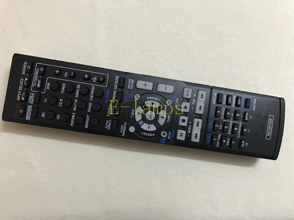 New Replacement Remote Control For Pioneer VSX-1027-K VSX-1122 AV RECEIVER Remote  AV Receiver