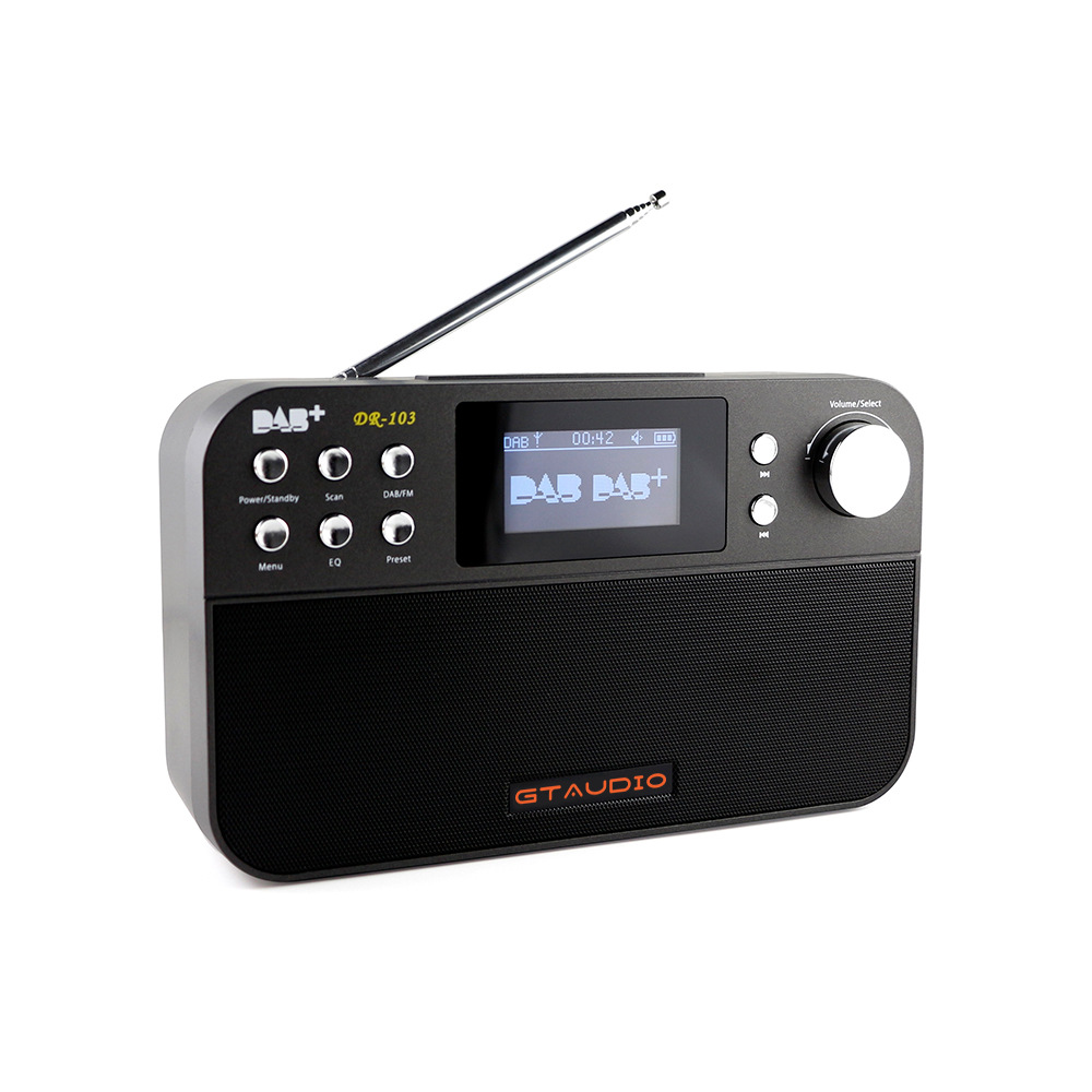 Digital FM Radio Digital linternet radio portable fm DAB DAB+ Radio Mini Speaker radio RADRD103 5pcs pocket radio 9k portable dsp fm mw sw receiver emergency radio digital alarm clock automatic search radio station y4408