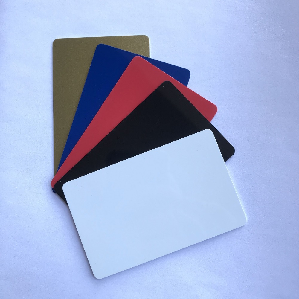 MIFARE Classic 1K RFID 13.56MHZ Golden Black Blue Red Hotel Lock Key Card (pack Of 10)(China)