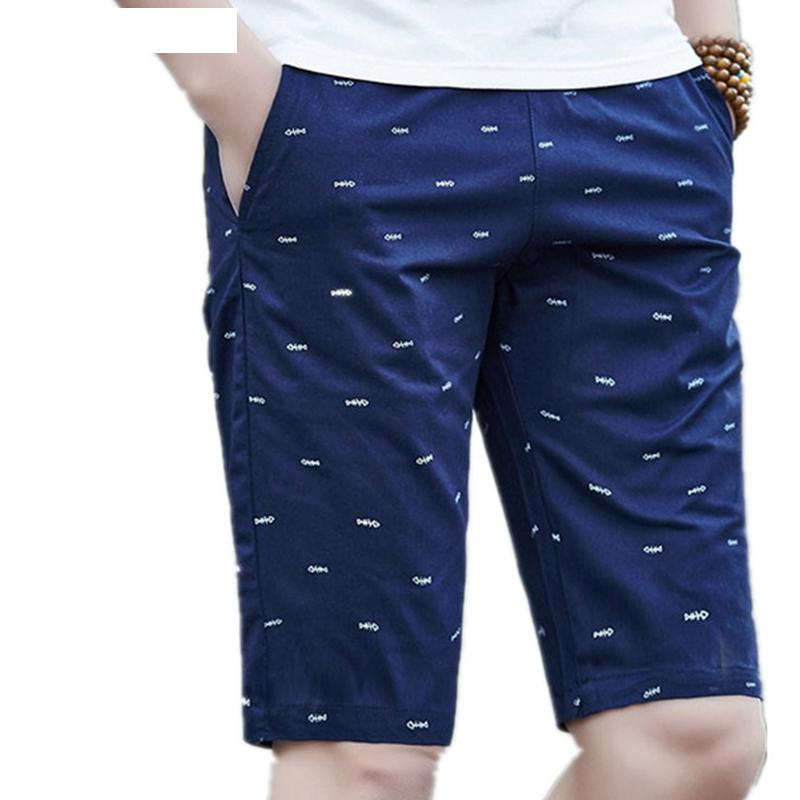 2019 Mens Beach Shorts Cotton Casual Male Shorts Homme Bermuda Masculina  New Brand Men Shorts Summer  Plus Size 5XL