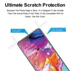 Image 2 - מזג זכוכית עבור Samsung Galaxy A70 מסך מגן 2.5D 9 שעתי מזג זכוכית עבור Samsung A70 SM A705F/DS A7050 מגן סרט
