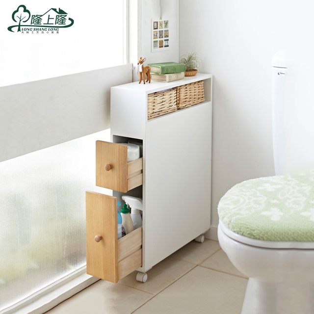 Cheap pumping toilet paper toilet side cabinet mobile cabinet ...
