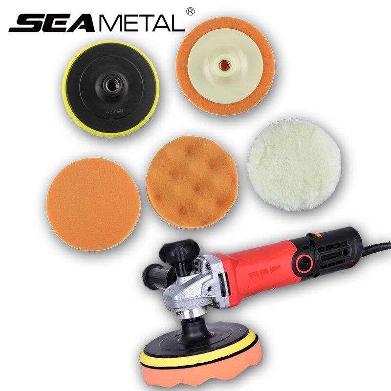 Car Wash Polishing Sponge Cotton Universal font b Care b font Clean Brush Waxing Washing Wax