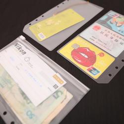 A5A6 ПВХ Презентация Binder папка молния получить мешок лаконичный планировщик спираль подачи карта продуктов держатель сумка Бесплатная