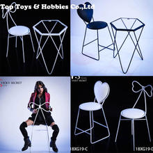 Toys Collection Gift VSTOYS 18XG19 Trendy Sofa Scene Accessory 1/12 metal Chair Furniture For 12