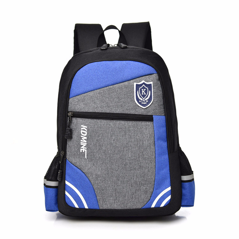 fashion stitching student school bags for boys travel children backpack Lightweight schoolbag printing school backpacks mochila
