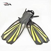 Keep Diving Scuba Diving Long Swimming Fins Professional Adult Flexible Comfort Snorkeling Swim Flippers Swimming Fins