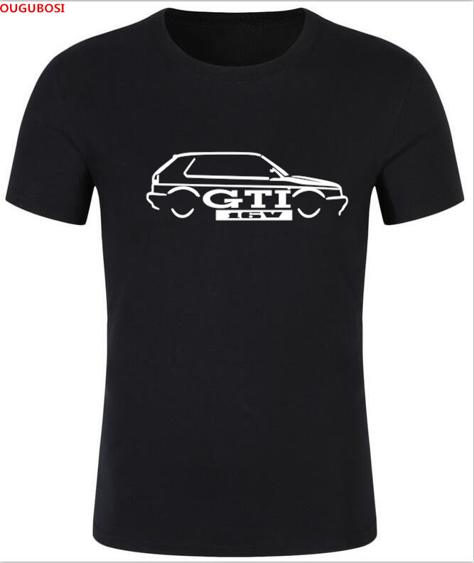 2018 FREE SHIPPING Details about VW GOLFS GTI MK 2 INSPIRED CLASSIC CAR T-SHIRT