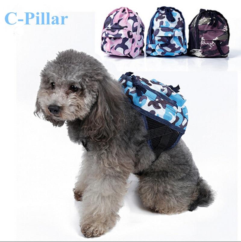 Modrá / Růžová / Zelená Pet Carrier Pack Psí taška batoh Solid Oxford Lillte Psi Bag Mochila Perro